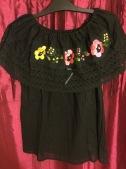 Negra floreada £20 Medium Size